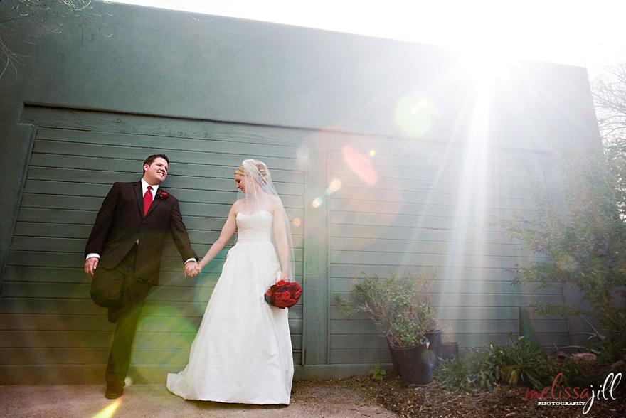 Greg & Megan's Wedding Portrait at The Desert Botanical Gardens in Phoenix Arizona