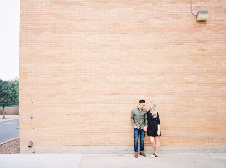 ASU engagement shoot