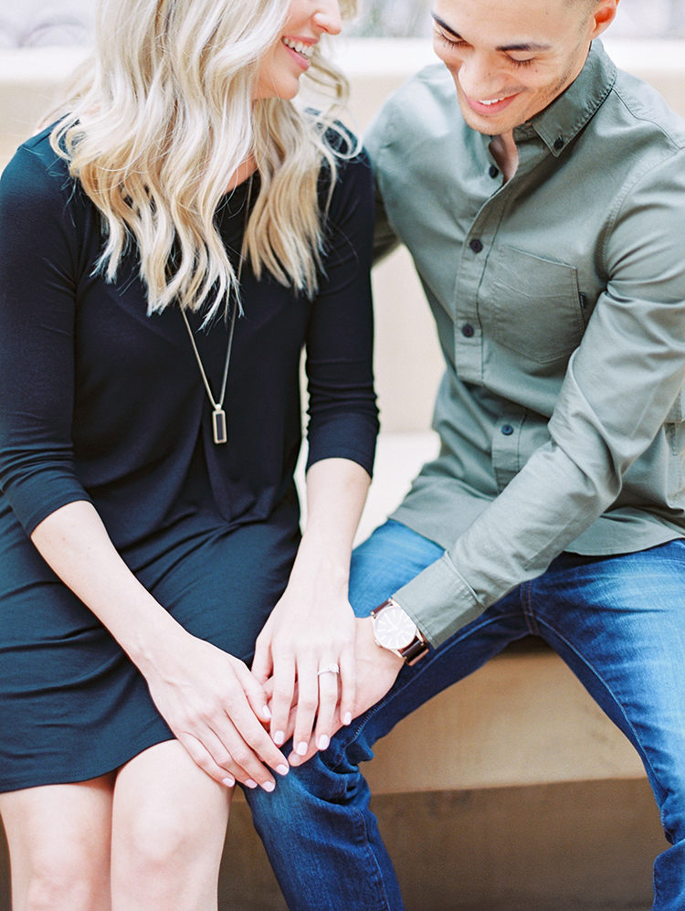 casual engagement shoot outfits