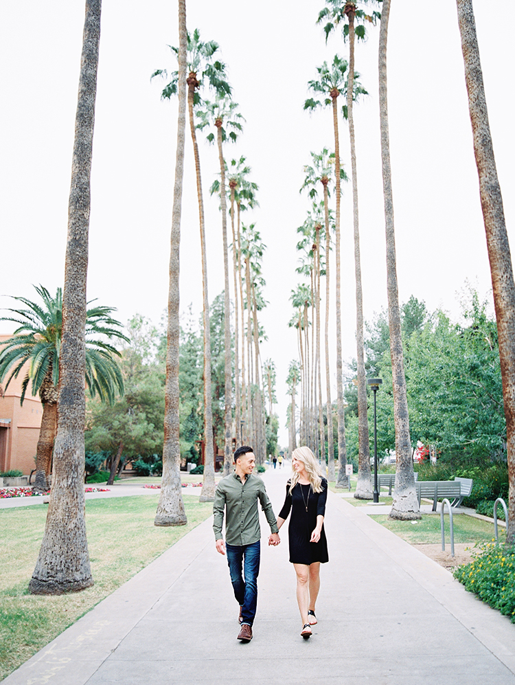 Palm Walk engagement