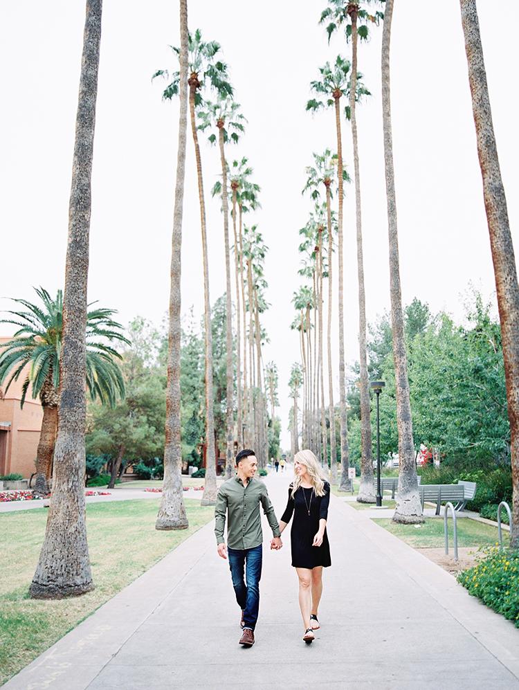 Palm Walk engagement