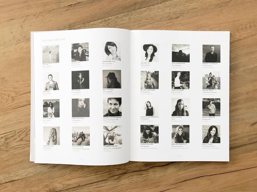 Contributors for Aglow Magazine Volume 4