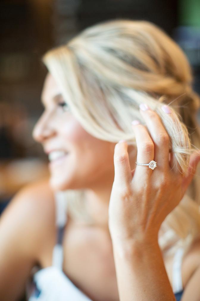 dazzling engagement ring