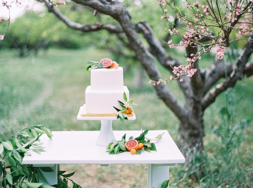 Sift Bakehouse citrus cake