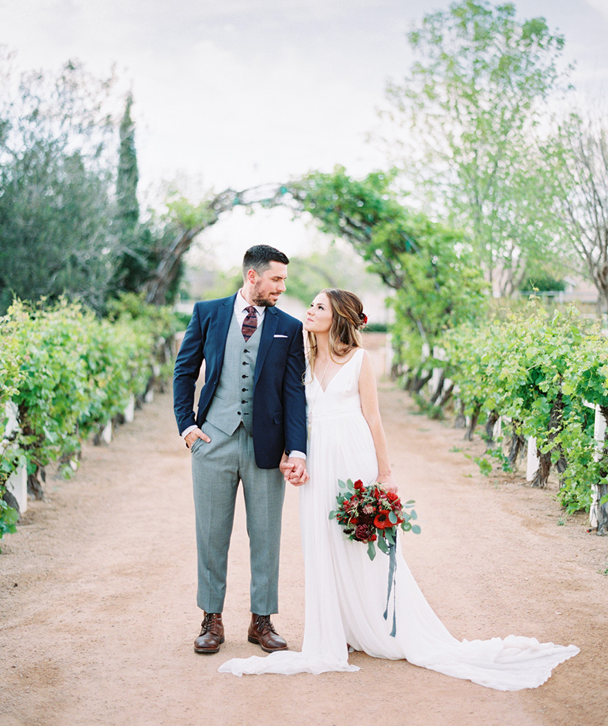 The Farm at Agritopia vineyard wedding