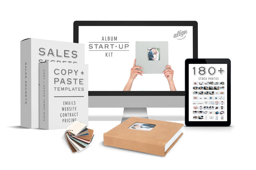 Align Album Design Album Start-Up Kit