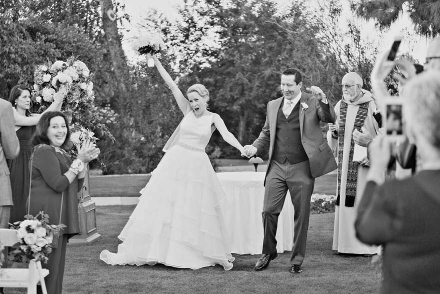 thrilled to be husband and wife
