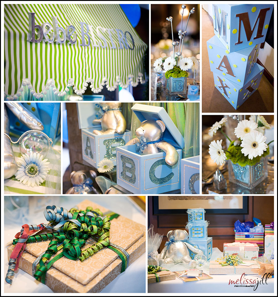 Beautiful baby shower details phoenix scottsdale for Baby shower decoration ideas martha stewart