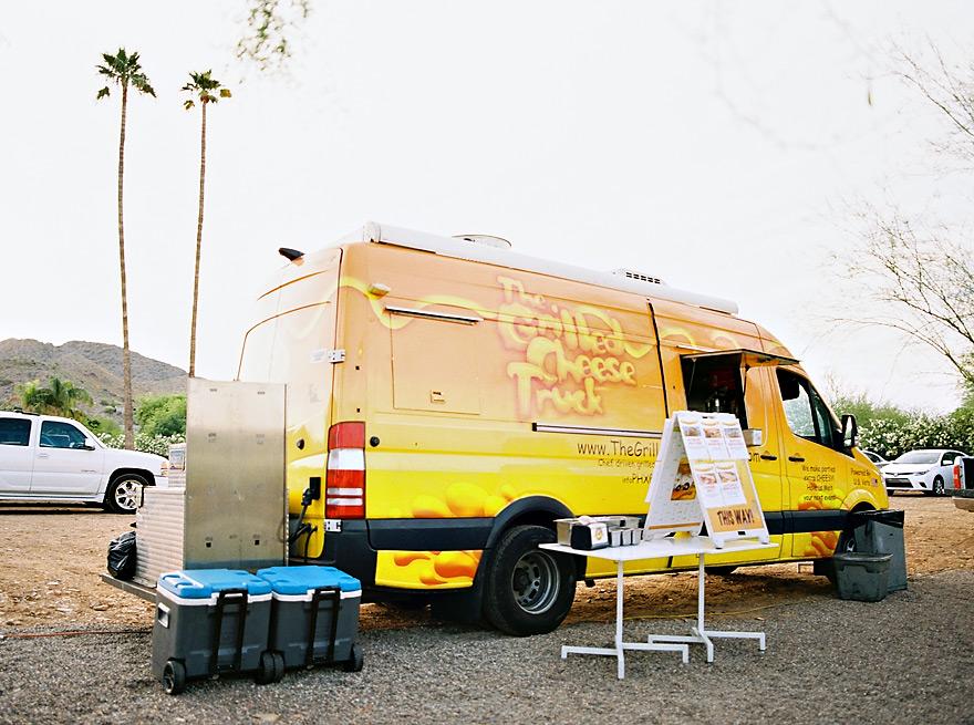 food trucks for bohemian wedding reception