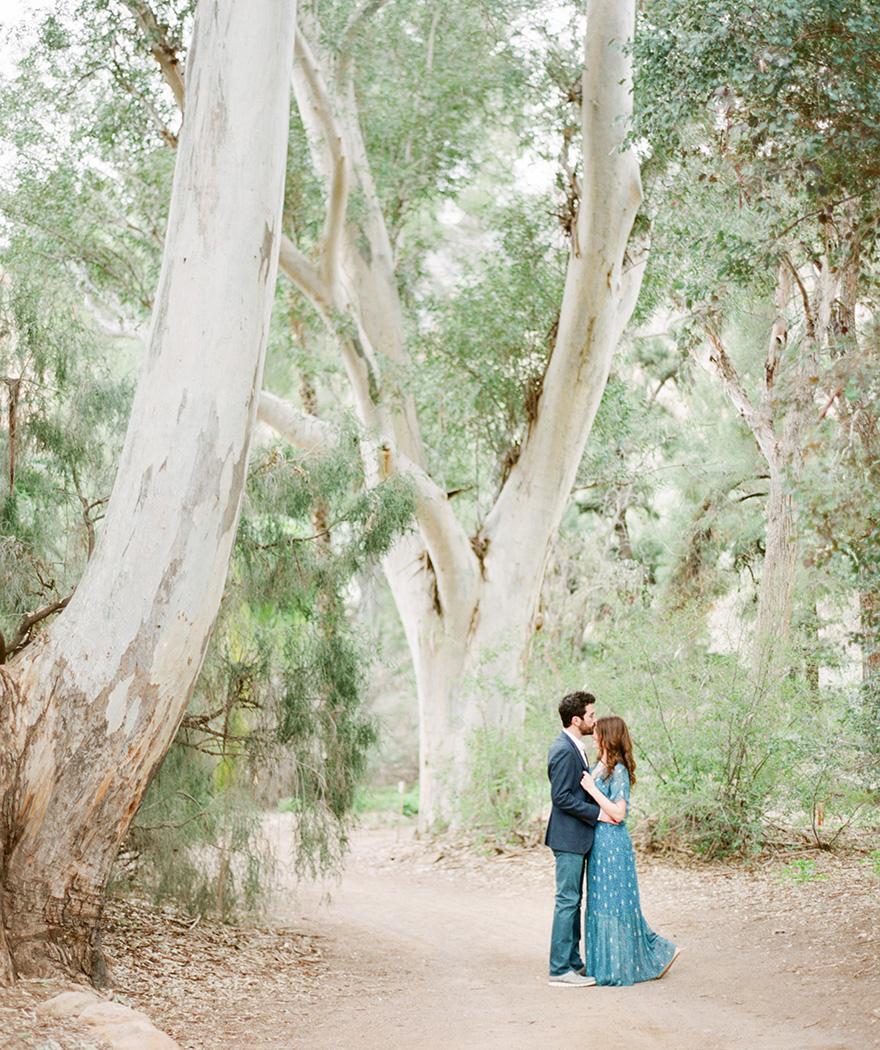 Boyce Thompson Arboretum engagement shoot