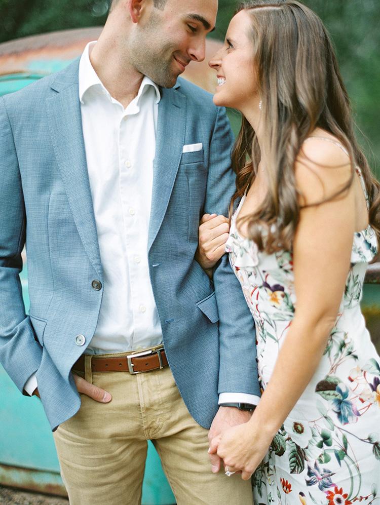 Engagement shoot style