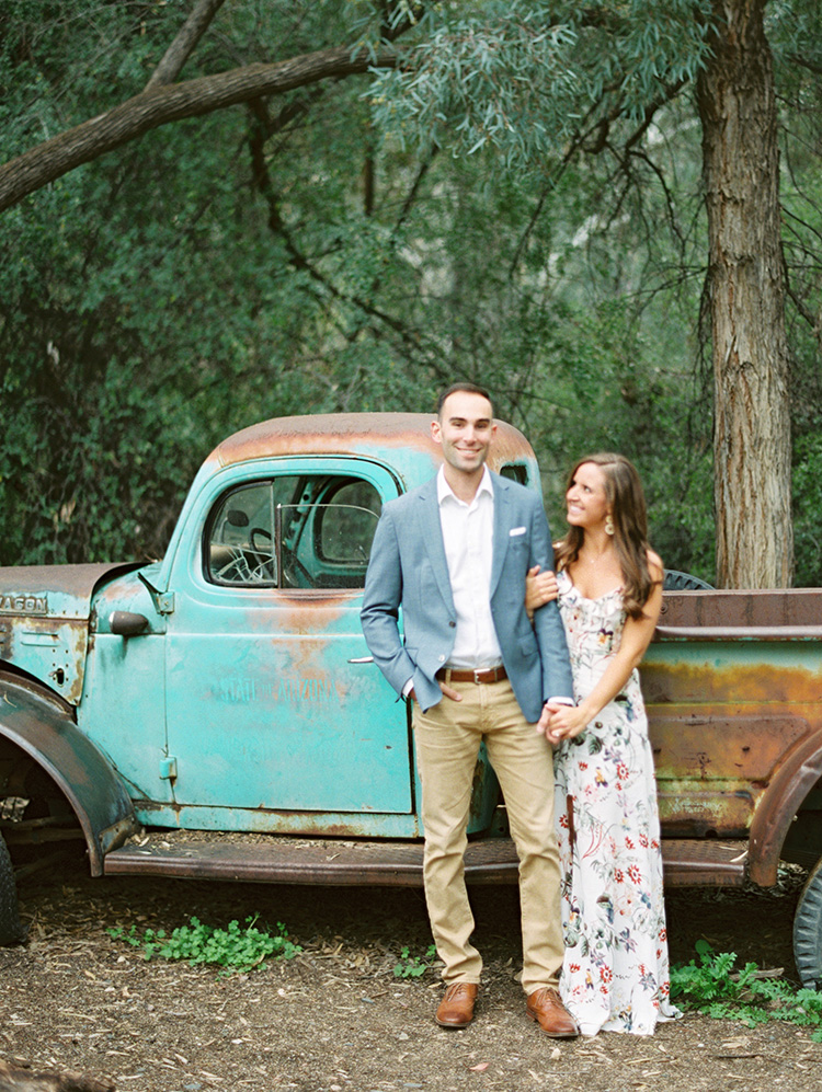 Boyce Thompson Arboretum engagement shoot