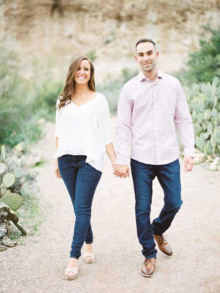Arizona desert engagement shoot