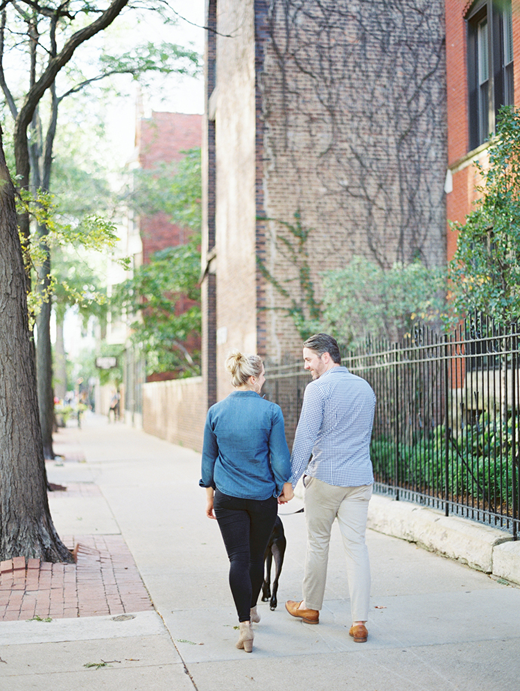 Lincoln Park engagement shoot in Chicago