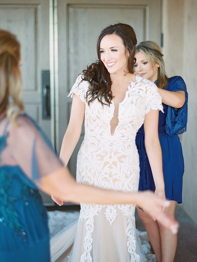 dramatic lace gown from Calla Blanche