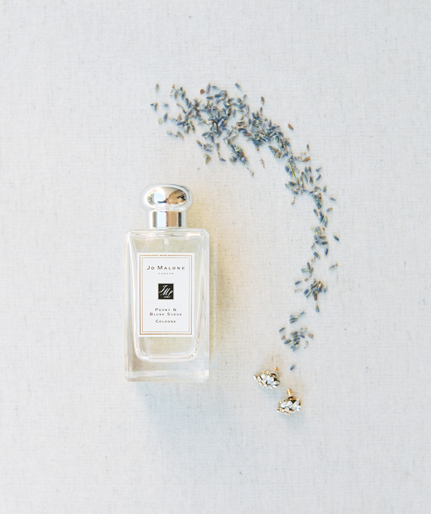 wedding perfume and dried lavender