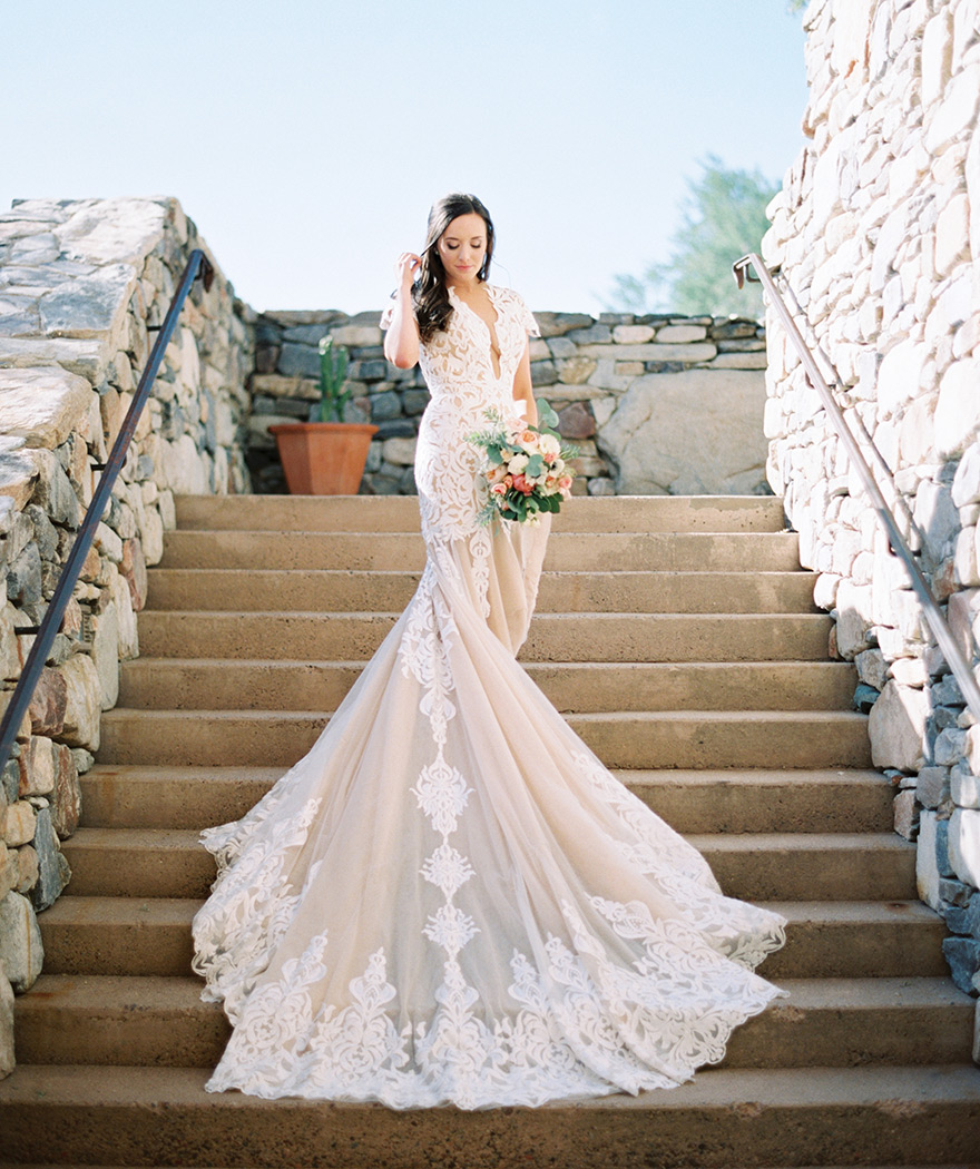 Wedding Gowns Dc: Elegant Wedding At The Country Club At DC Ranch