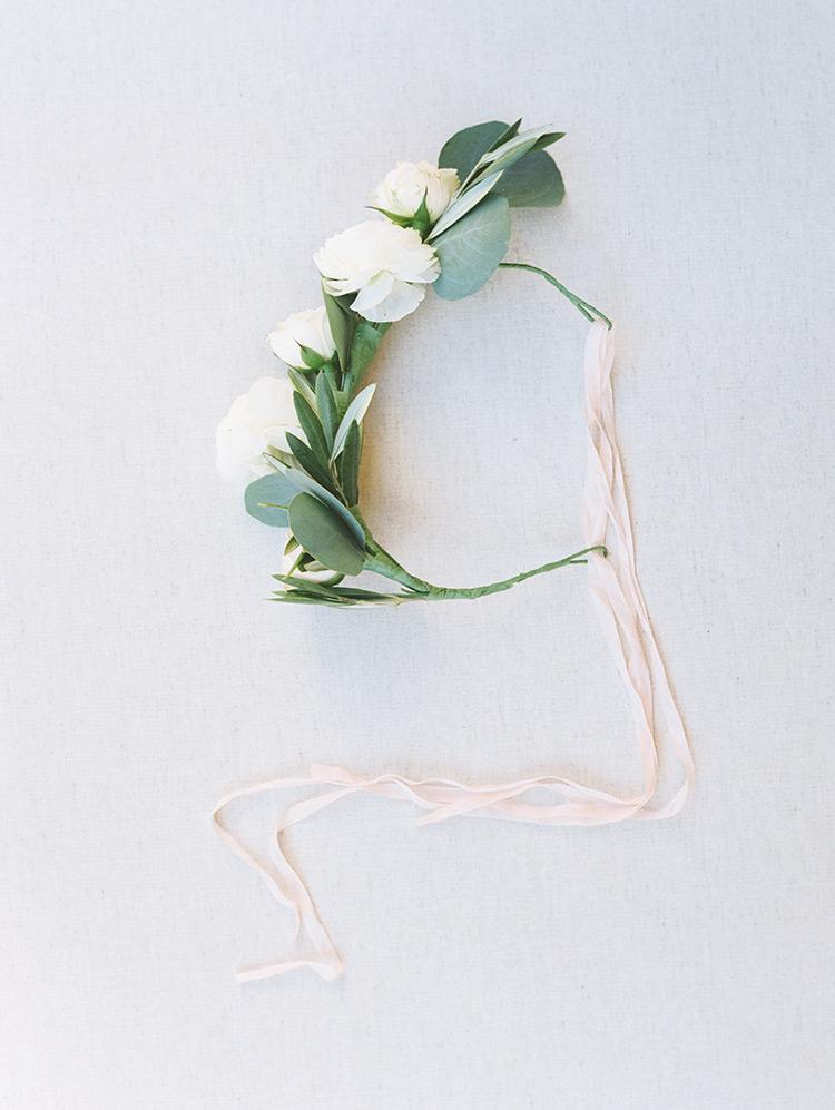 flower crown for the flower girl