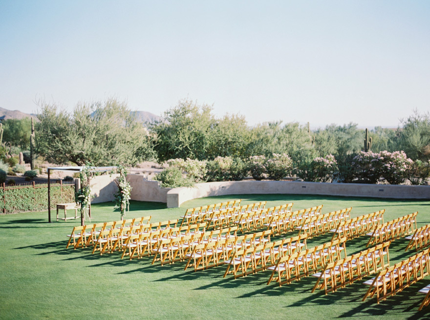 outdoor wedding at The Country Club at DC Ranch