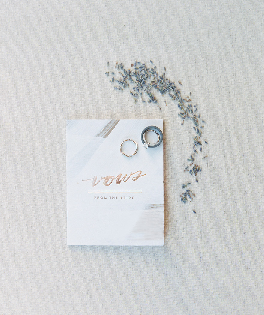 vows and rings
