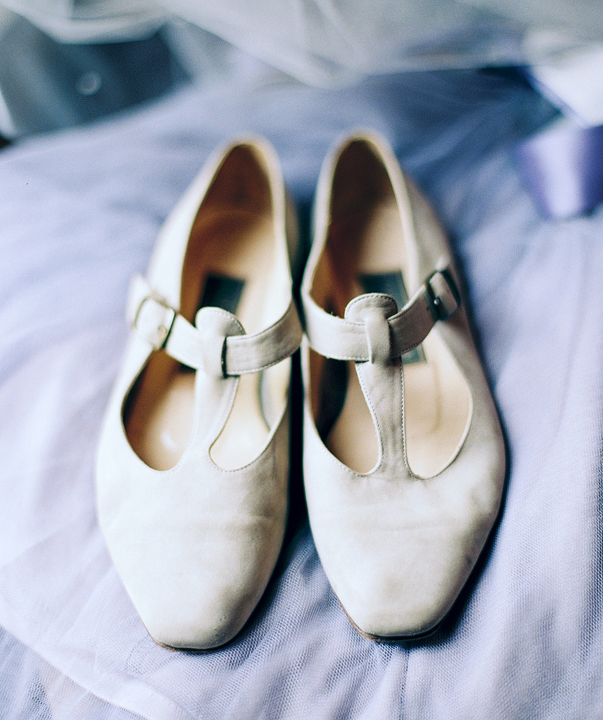 Simple, cute, and comfortable wedding shoes for the practical bride.