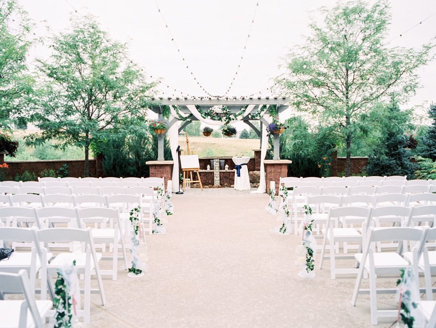 elegant outdoor wedding venue