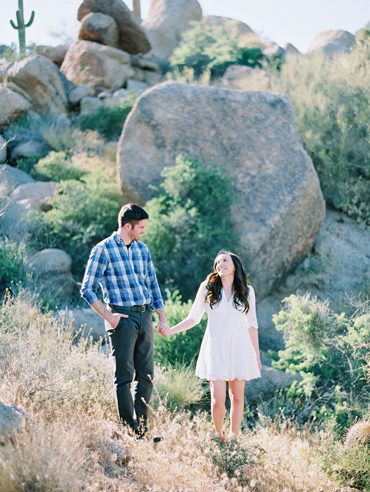 desert engagement shoot