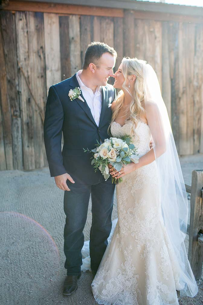 bride & groom at Desert Foothills Weddings & Events