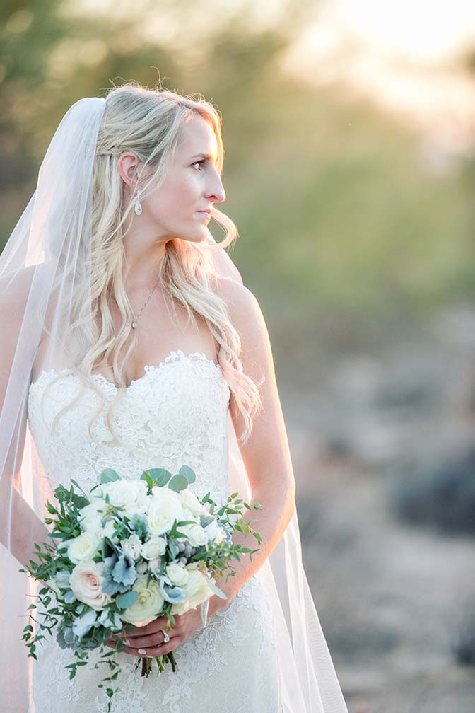 wedding portraits at Desert Foothills Weddings & Events