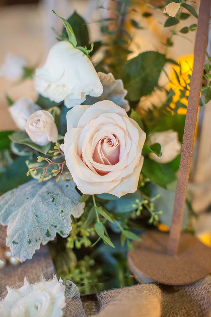 barn wedding reception at Desert Foothills Weddings & Events