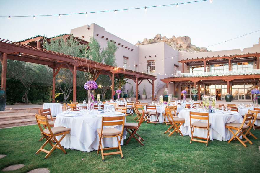 Best phoenix venues for a destination wedding phoenix destination wedding venue in scottsdale arizona four seasons resort reception decor and tables junglespirit Image collections