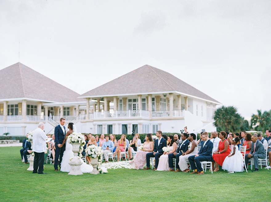 outdoor ceremony at the West Punta Cana