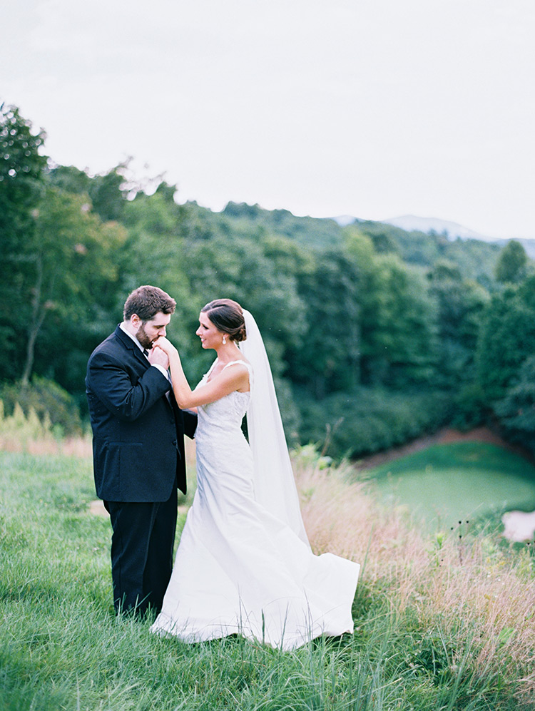 North Carolina mountain wedding