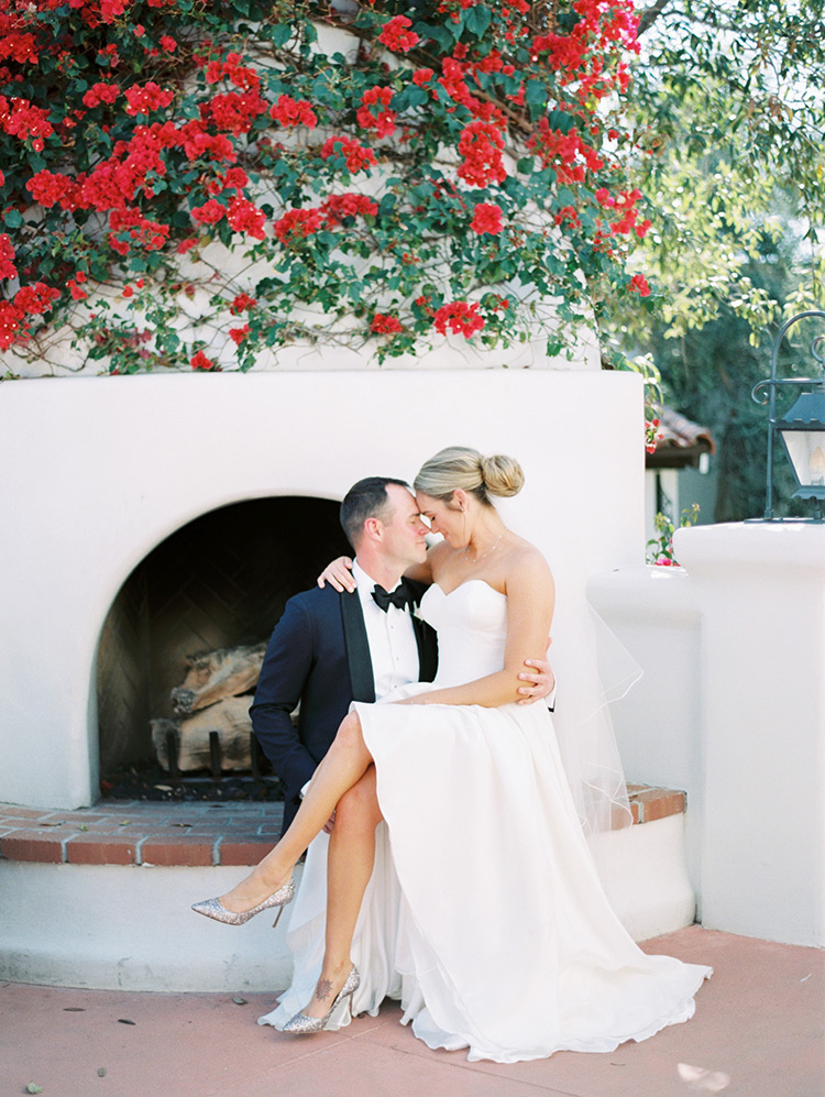 wedding romance at El Chorro in Scottsdale