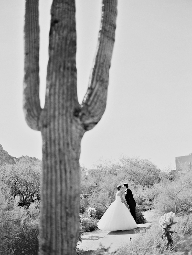 desert wedding day