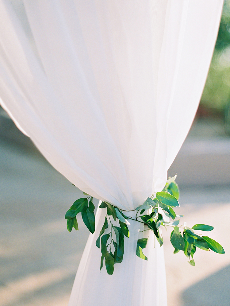 chuppah detail by Flower Studio