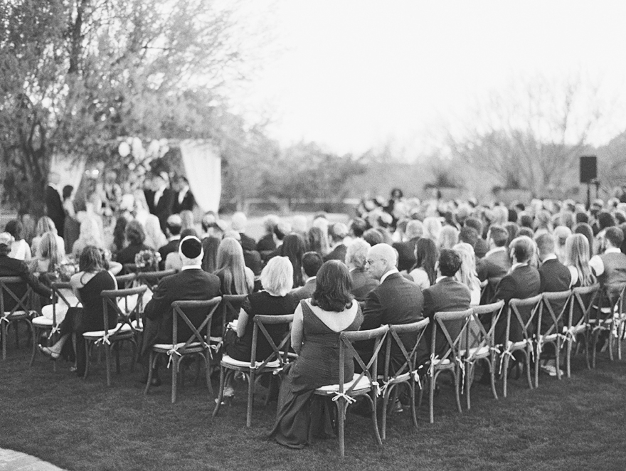 Four Seasons Troon North sunset ceremony