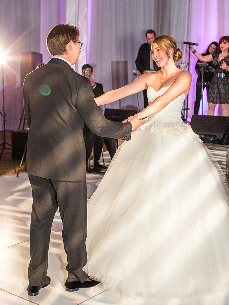couples first dance Four Seasons Troon North