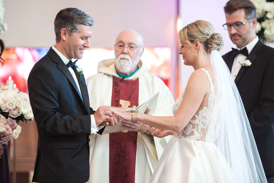 wedding at the Franciscan Renewal Center