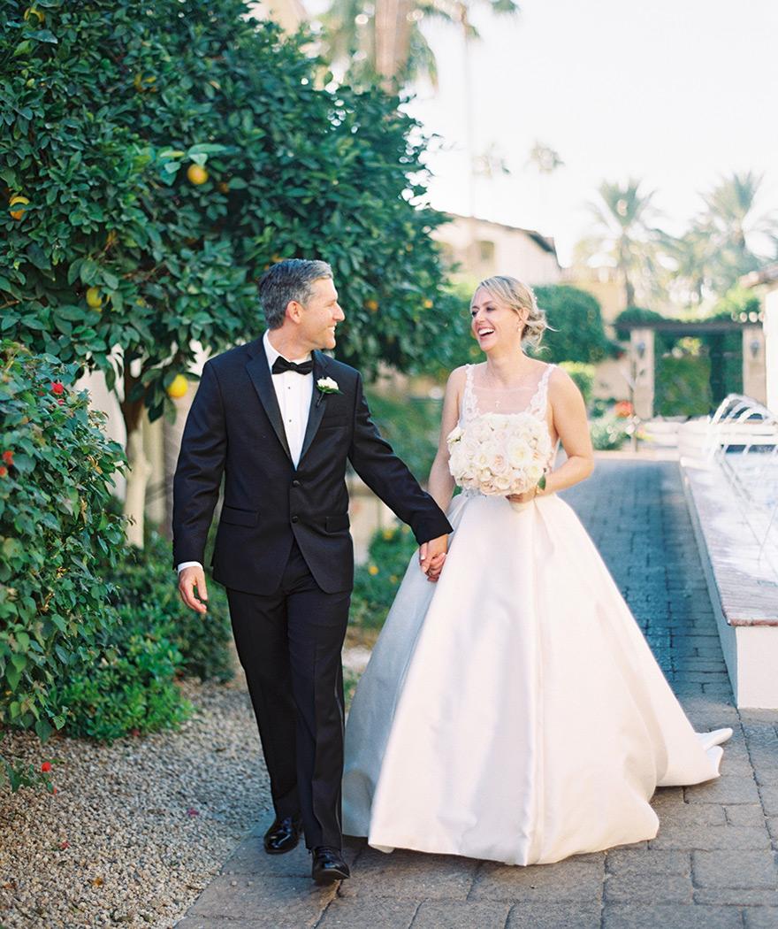 wedding at the Omni Scottsdale Resort at Montelucia