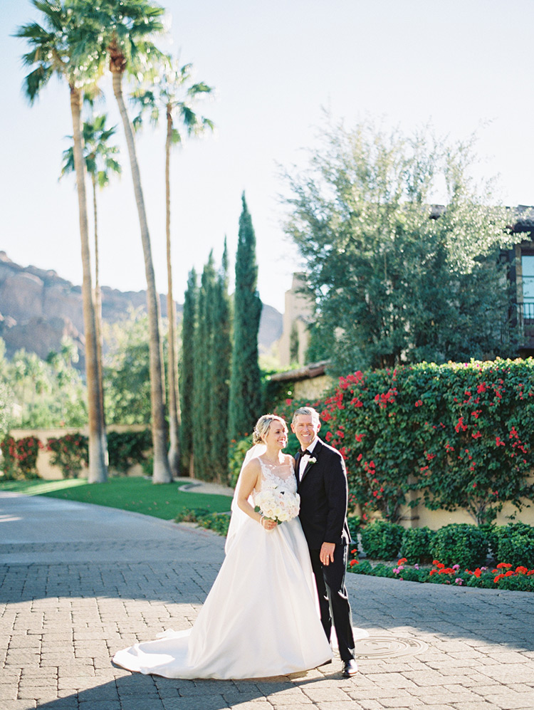 wedding at the Omni Scottsdale Resort at Montelucia