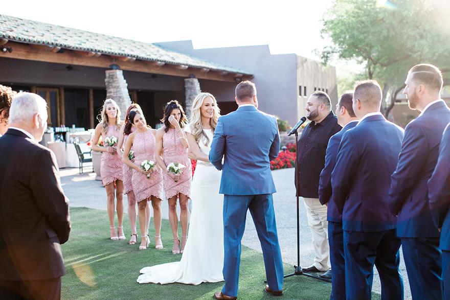 Grayhawk Golf Club wedding