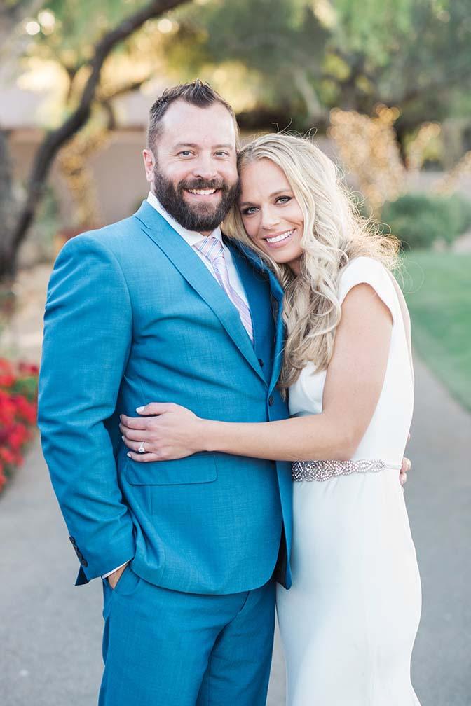 stylish Scottsdale bride & groom