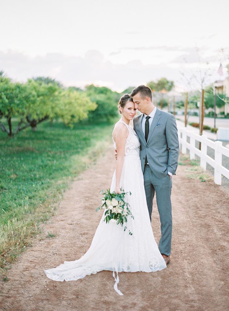 boho orchard wedding