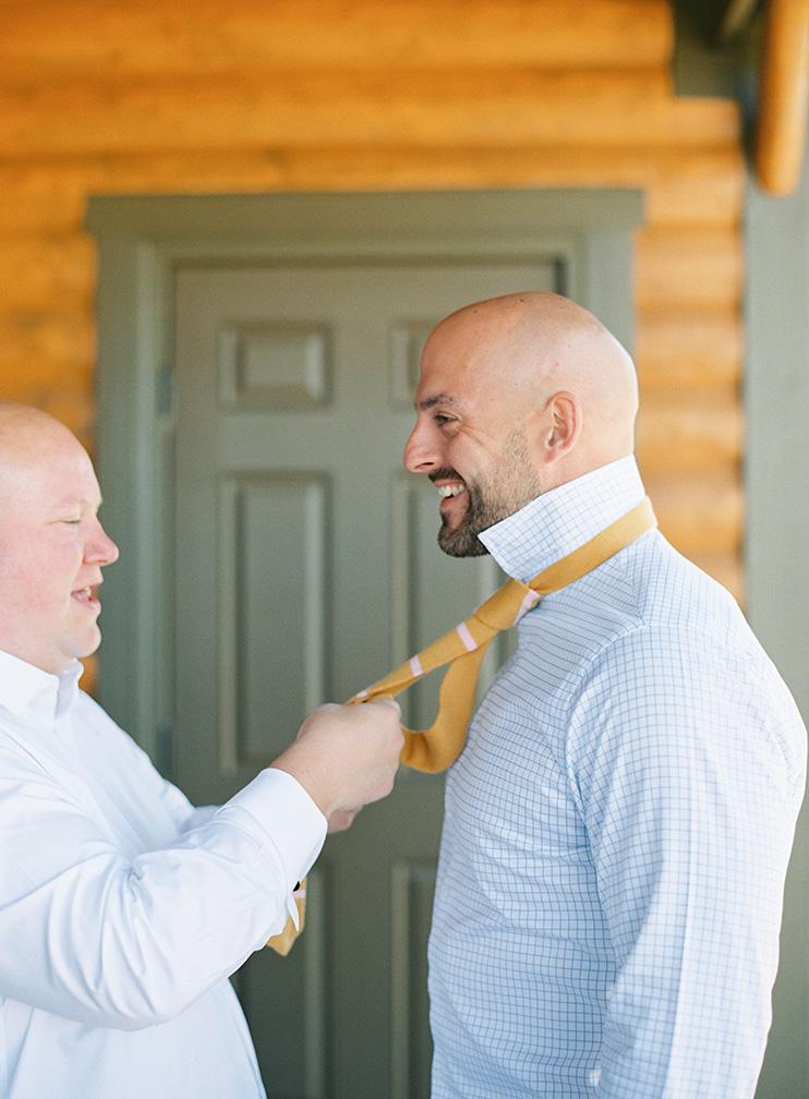 custom knit tie