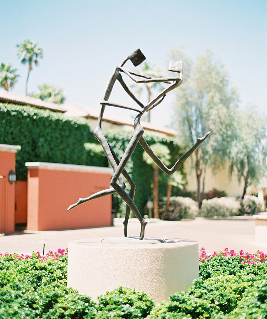 sculpture at Omni Scottsdale Resort & Spa at Montelucia