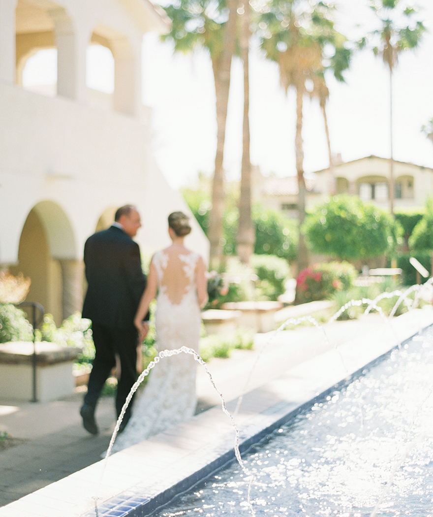 beautiful wedding at Montelucia in Scottsdale