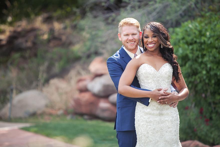 outdoor wedding in Sedona, AZ