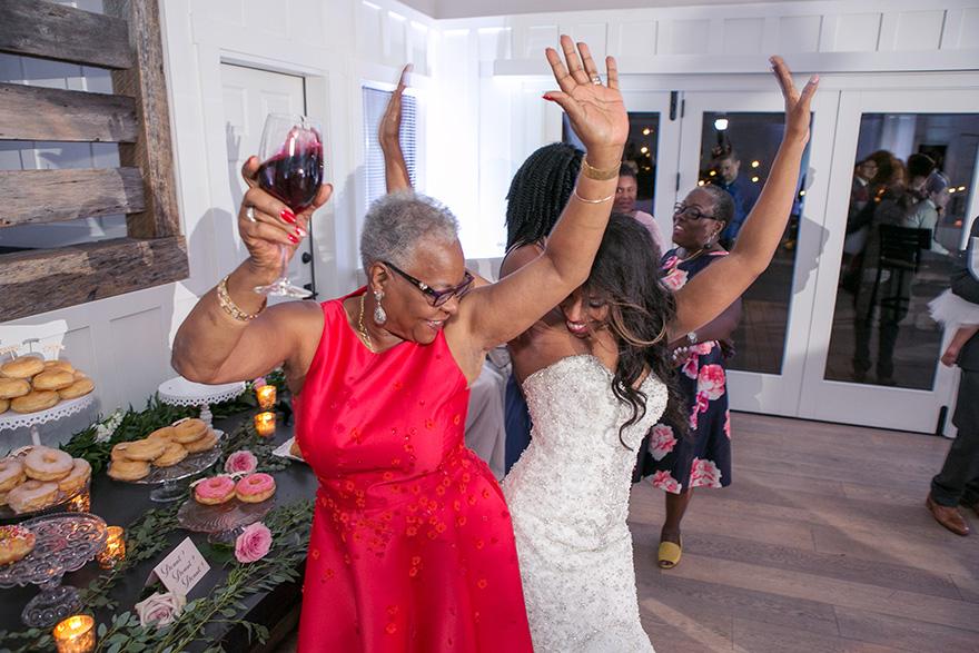 wedding reception at L'auberge de Sedona