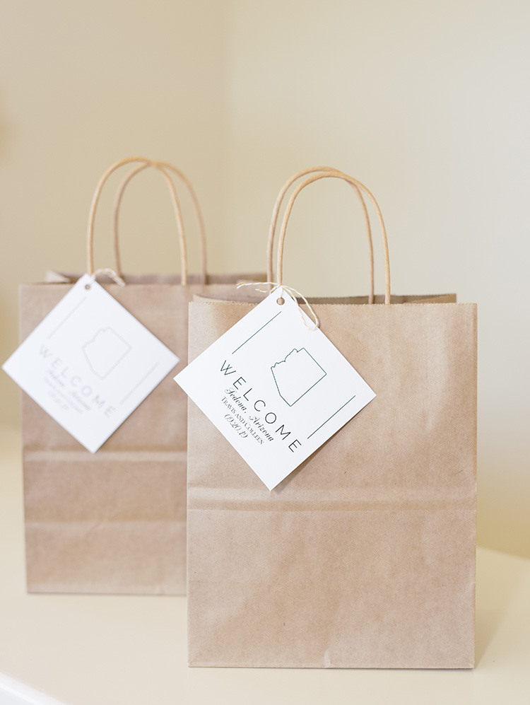 Sedona wedding welcome bags
